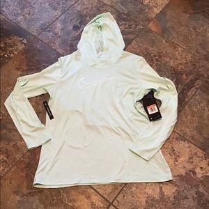 Nike Dri Fit light weight hoodie, NWT